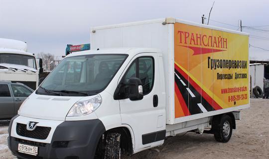 Peugeot Boxer грузовое такси в во Власихе
