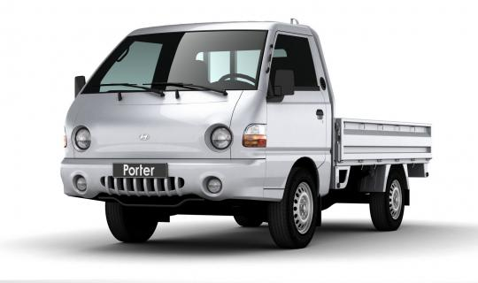 Хундай Портер (Hyundai Porter) грузовое такси в Часцах